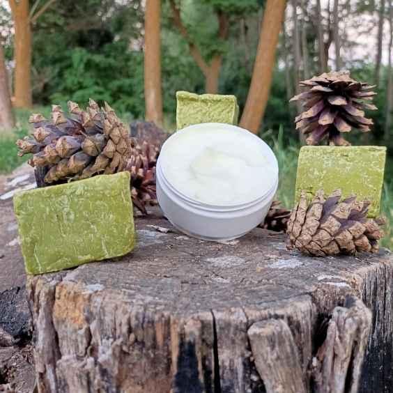 Doğal Saç Bakım Kremi (Bıttım Yağlı)   Organik Heybem Doğal Ürünler