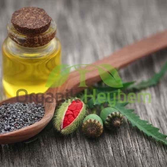 Haşhaş Yağı - Organik Heybem Doğal Ürünler