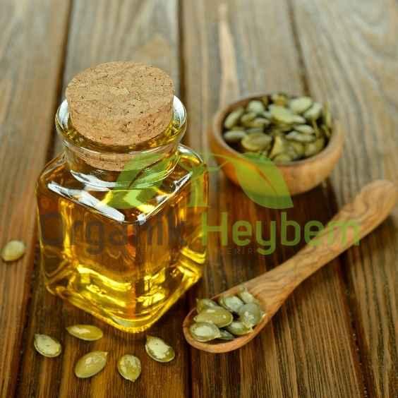 Kabak Çekirdeği Yağı (Soğuk Sıkım & %100 Saf) - Organik Heybem Doğal Ürünler